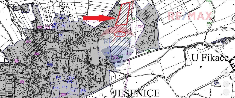 Prodej pozemku, 14194 m2, Jesenice