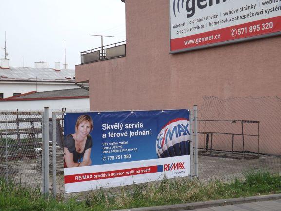reklamní plachta