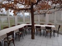 : zimní zahrada navazující na bar (Prodej domu v osobním vlastnictví 1080 m², Nevid)