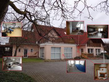 : hlavní objekt pensionu s restaurací - Prodej domu v osobním vlastnictví 1080 m², Nevid