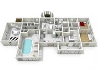: 1NP pensionu (Prodej pozemku 84269 m², Nevid)
