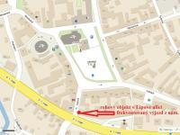 : Lipová ulice (Pronájem obchodních prostor 60 m², Dobřany)