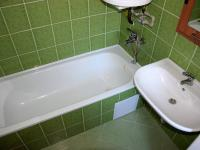 Koupelna (Prodej bytu 2+1 v osobním vlastnictví 50 m², Plzeň)