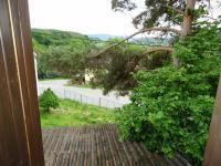 Pohled z balkonu (Prodej chaty / chalupy 85 m², Čižice)