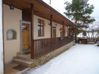 Pohled na dům v zimě (Prodej chaty / chalupy 85 m², Čižice)