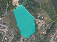 katastrální vyznačení pozemků (Prodej pozemku 20915 m², Všeruby)
