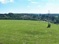 panoramatický záběr z levého horního rohu pozemků (Prodej pozemku 20915 m², Všeruby)