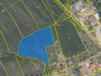 : pozemek 3575 m2 - Prodej pozemku 3575 m², Bučí