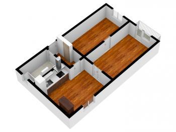 Prodej bytu 2+1 v osobním vlastnictví 49 m², Plzeň
