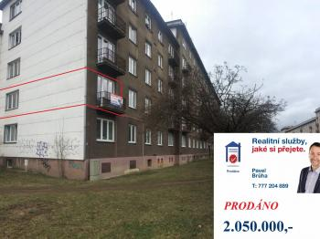 Prodej bytu 2+1 v osobním vlastnictví 54 m², Plzeň