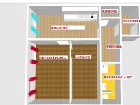 Pronájem bytu 2+1 v osobním vlastnictví 62 m², Klatovy