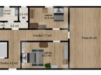 Prodej domu v osobním vlastnictví 212 m², Osvračín