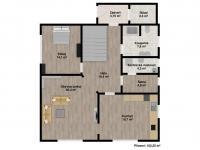 : přízemí - Prodej domu v osobním vlastnictví 202 m², Letkov