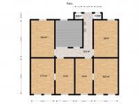 1. a 2. patro - identické - Prodej nájemního domu 360 m², Plzeň