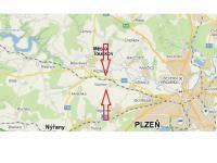 Poloha pozemku - Prodej pozemku 1119 m², Vochov