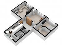 Prodej bytu 3+1 v osobním vlastnictví 68 m², Chlumčany