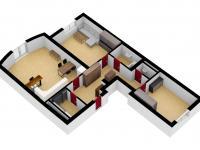 Pronájem bytu 3+kk v osobním vlastnictví 84 m², Plzeň