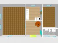 Vizualizace bytu - Prodej domu v osobním vlastnictví 83 m², Dolní Lukavice