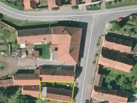 Pohled z výšky - Prodej domu v osobním vlastnictví 83 m², Dolní Lukavice