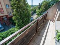 Balkon (Prodej bytu 4+1 v osobním vlastnictví 92 m², Praha 5 - Smíchov)