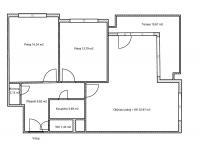 Prodej bytu 4+kk v osobním vlastnictví 89 m², Praha 5 - Košíře