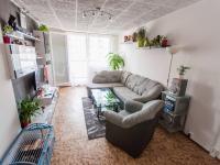 Obývací pokoj (Prodej bytu 3+1 v osobním vlastnictví 69 m², Praha 9 - Černý Most)