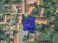 Celkový pohled katastr (Prodej domu v osobním vlastnictví 177 m², Nový Knín)