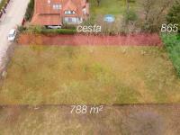 Prodej pozemku 788 m², Praha 9 - Horní Počernice