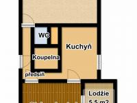 Prodej bytu 2+1 v osobním vlastnictví 52 m², Praha 6 - Břevnov