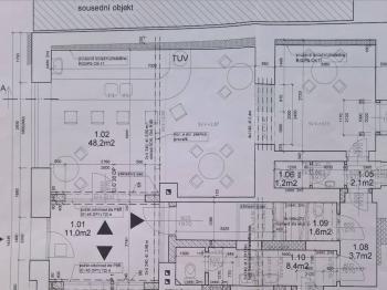 prostor 1 - Pronájem obchodních prostor 48 m², Praha 5 - Radotín