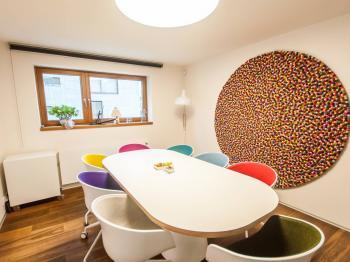 Zasedací místnost - Pronájem kancelářských prostor 36 m², Praha 6 - Bubeneč