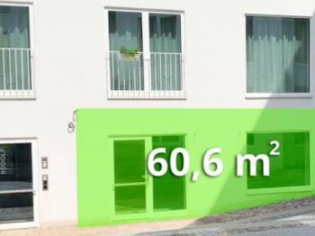 CorsoPodLipami - Pronájem obchodních prostor 60 m², Řevnice