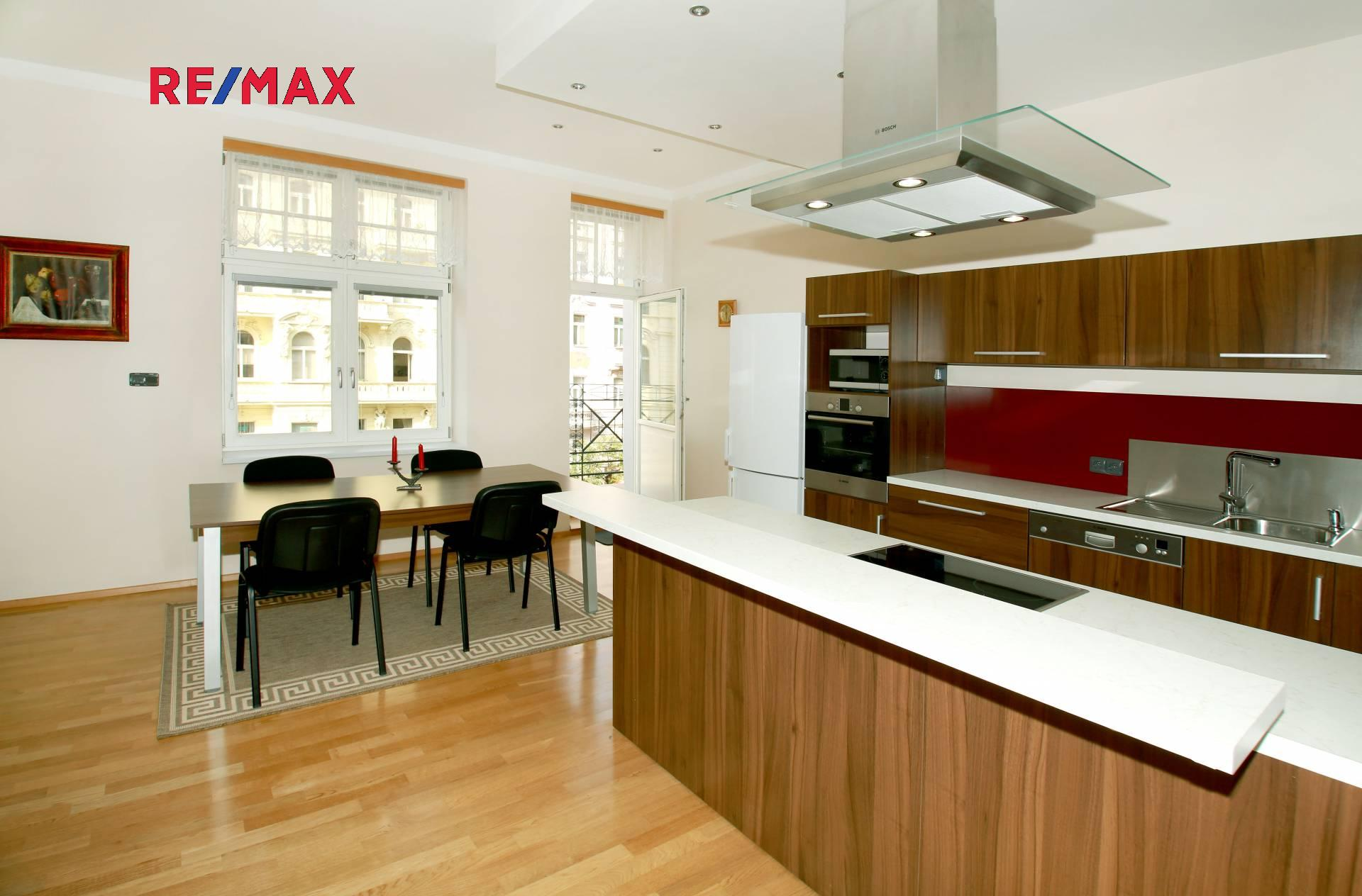 Pronájem bytu 3+kk v osobním vlastnictví 106 m², Praha 10 - Vršovice