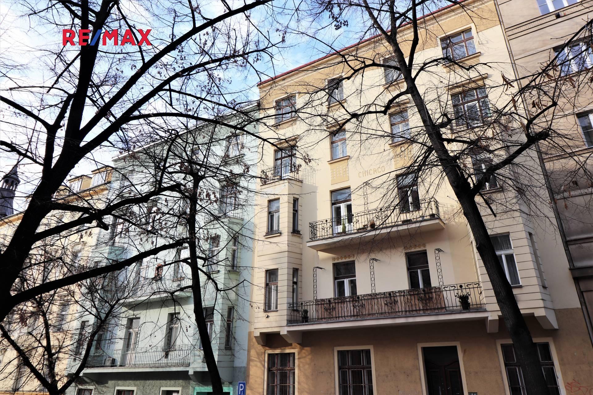 Pronájem bytu 1+1 v osobním vlastnictví 42 m², Praha 10 - Vršovice