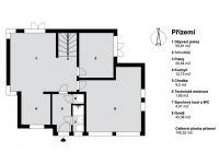 Prodej domu v osobním vlastnictví 280 m², Bašť