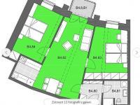 Pronájem bytu 3+kk v osobním vlastnictví 66 m², Jihlava
