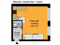 Prodej bytu 4+kk v osobním vlastnictví 83 m², Praha 9 - Letňany