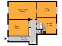 Prodej bytu 3+1 v družstevním vlastnictví 85 m², Praha 7 - Holešovice