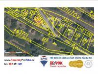 Prodej pozemku 1119 m², Hostivice