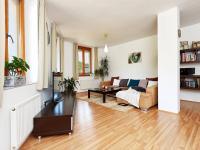 obývací pokoj (Prodej bytu 3+kk v osobním vlastnictví 117 m², Praha 5 - Radlice)
