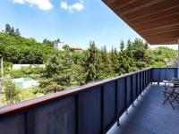 balkon (Prodej bytu 3+kk v osobním vlastnictví 117 m², Praha 5 - Radlice)