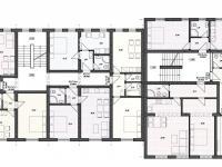 Studie 1. patro - Prodej penzionu 1670 m², Lučany nad Nisou