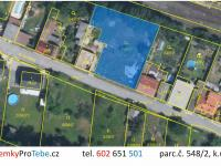 Prodej pozemku 1203 m², Hostivice