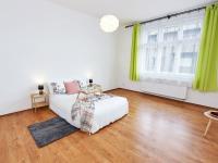 ložnice (Prodej bytu 2+kk v osobním vlastnictví 55 m², Praha 7 - Holešovice)