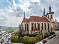výhled z lodžie (Prodej bytu 2+kk v osobním vlastnictví 55 m², Praha 7 - Holešovice)