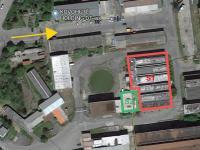 Poloha v areálu (Pronájem komerčního objektu 1079 m², Mníšek pod Brdy)