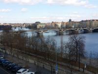 výhled - Pronájem bytu 3+kk v osobním vlastnictví 105 m², Praha 5 - Smíchov