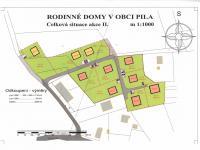 Prodej pozemku, 1110 m2, Pila