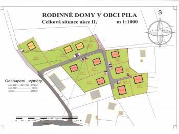 Prodej pozemku 930 m², Pila