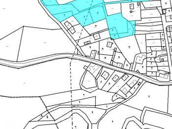 Prodej stavební pozemek RD 6, Pila u Karlových Varů - Prodej pozemku 850 m², Pila